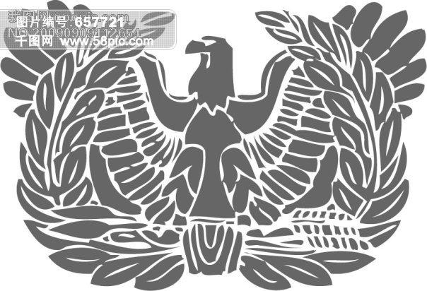 老鹰的手绘图