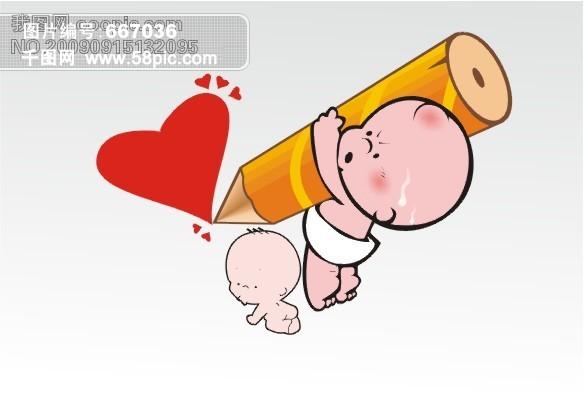 宝宝可爱卡通图_可爱呆萌卡通图 可爱的手绘小卡通图3; 可爱卡通图片