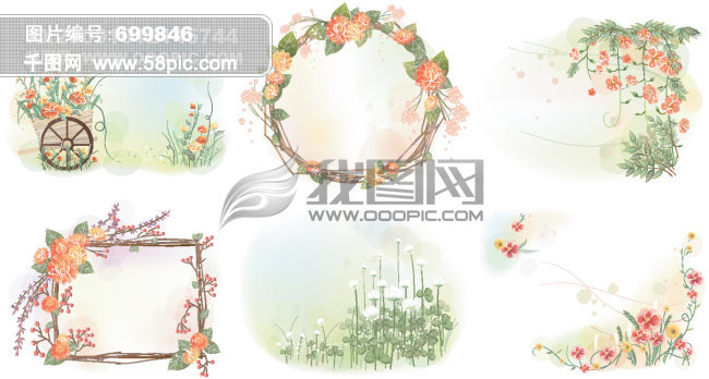 ppt 背景 背景图片 边框 模板 设计 素材 相框 650_348