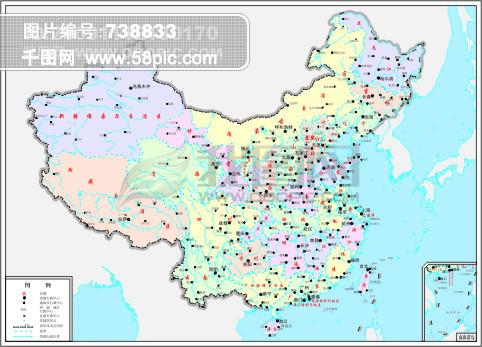 中国地图全图 中国地图下载