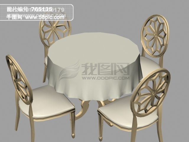 3D手绘座椅