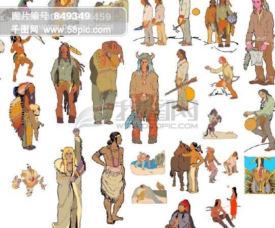 卡通历史人物图片