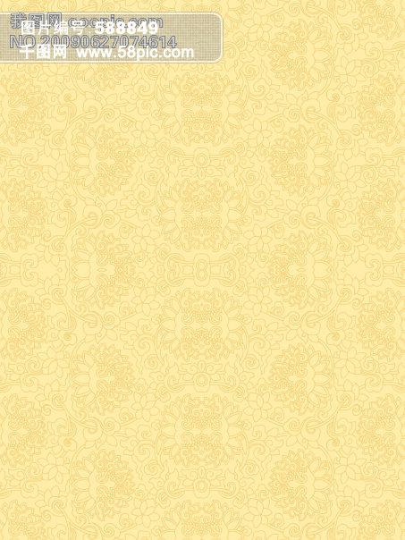 黄色背景底纹