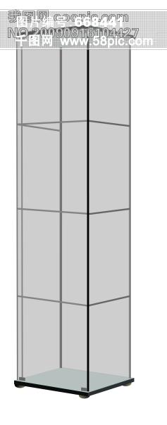 服装柜台展示手绘效果图