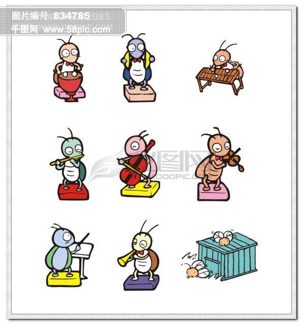 卡通小蚂蚁