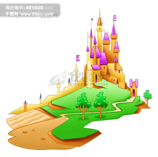 迪士尼公主城堡