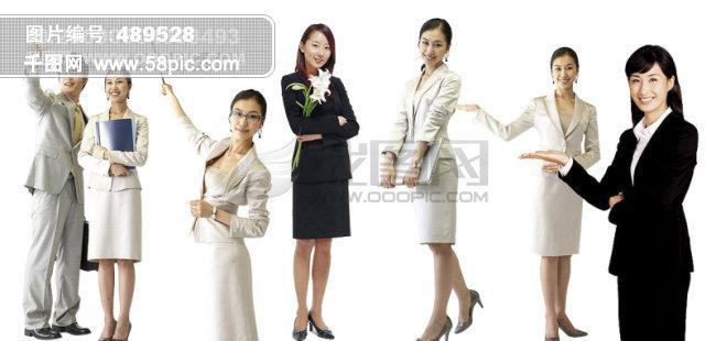 商务职业女 美女 人物 商业人物 工作人员 韩国人物性人物