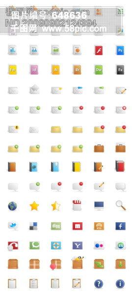 色彩斑斓 房子,主页,office,文档,文件格式,邮件,信封,文件夹,我的图片