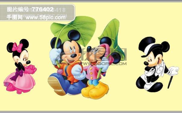 迪士尼卡通人物 卡通人物 卡通 卡通动物 卡通老鼠 迪士尼 米老鼠